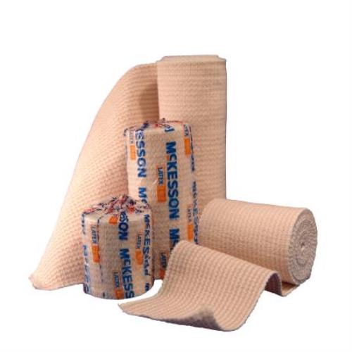MCKESSON ELASTIC BANDAGE 5 YDS STRETCHED, 3