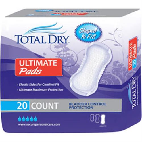 TOTAL DRY INCONTINENT PAD, ULTIMATE