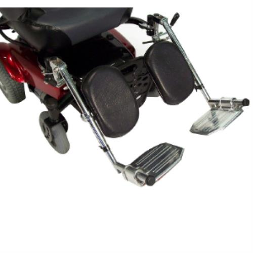 WHEELCHAIR ELEVATING LEG REST PR, BLACK