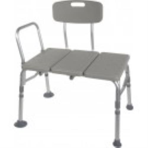 TRANSFER BENCH, PLASTIC NON-PADDED