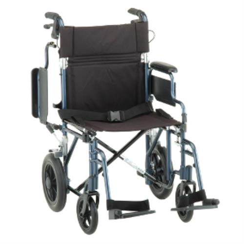NOVA TRANSPORT CHAIR 19IN W/DETACH ARMS