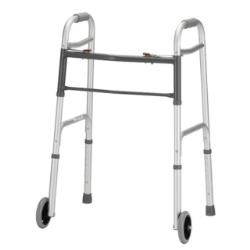 NOVA FOLDING WALKER W/5IN WHEELS