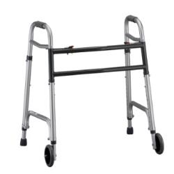 HEAVY DUTY WALKER / W 5IN WHEELS