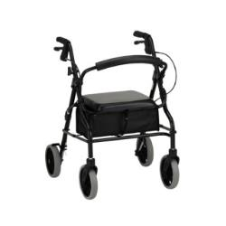 NOVA ZOOM WALKER 20IN W/8IN WHEELS, BLACK