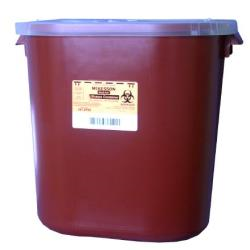 SHARPS CONT 8GAL, STACKABLE