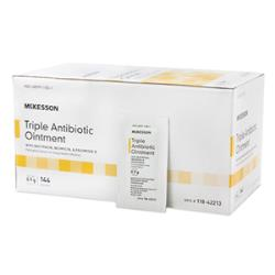 MCKESSON FIRST AID ANTIBIOTIC OINTMENT 0.9 GR