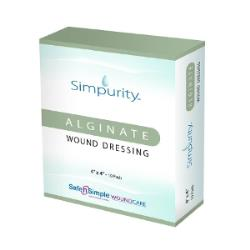 SIMPURITY CALCIUM ALGINATE 4IN X 4IN