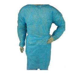 GOWN, ISOLATION  COVER BLUE XLG