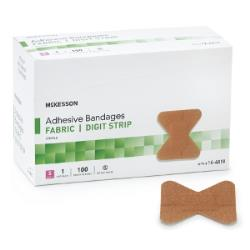 MCKESSON BANDAID FABR, DIGIT SM