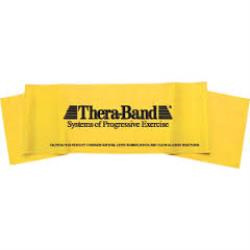 THERABAND EXERCISE BAND PER FT, LEVEL 1 - YELLOW