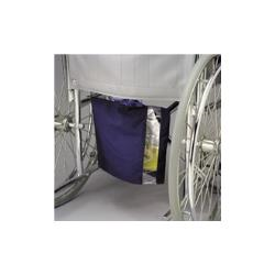 COVER, URINE BAG W/WINDOW NVY BLU CANVAS
