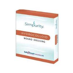 SIMPURITY HYDROCOLLOID, 4IN X 4IN