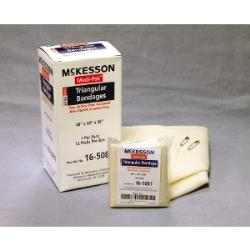 MCKESSON BANDAGE TRIANGULAR, 40INX40IN