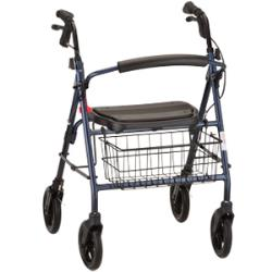 NOVA MIGHTY MACK 4WHEELED WALKER, BLUE