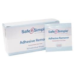 SAFE N' SIMPLE ADH REMOVER WIPE